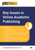 Key Issues in Online Academic Publishing