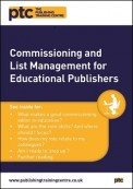 Commissioning and List Management for Educational Publishers